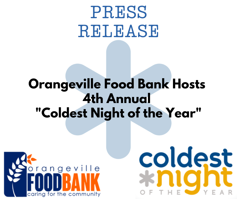 Press Release Coldest Night of the Year