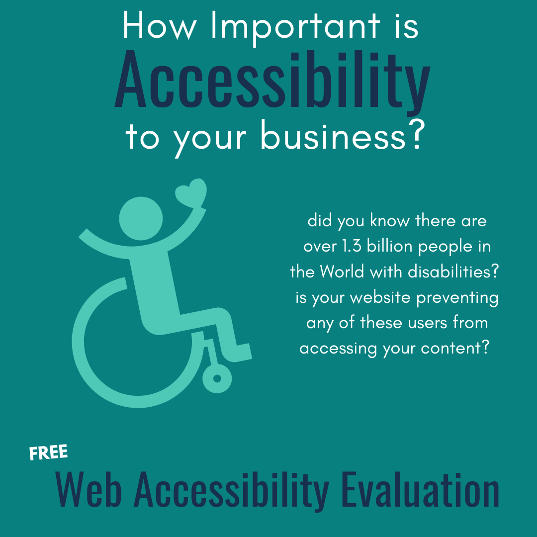 how important is web accessibility to your business